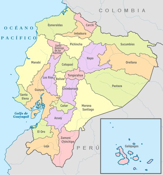 Rallier les différentes villes d'Équateur en bus