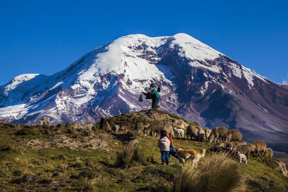 L'Équateur, une terre volcanique